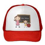 Personalized Female Teacher Baseball Hat