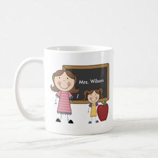 Personalized Female Teacher Mug
