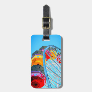 Personalized Ferris Wheel at Santa Monica Pier Luggage Tag