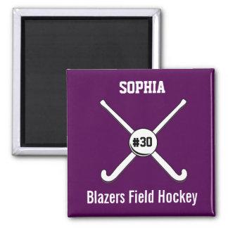 Field Hockey Refrigerator Magnets Zazzle - Custom field hockey car magnets
