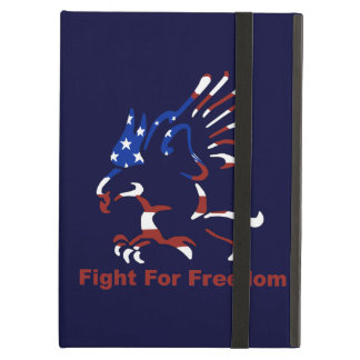 Personalized Fight For Freedom Eagle iPad Case