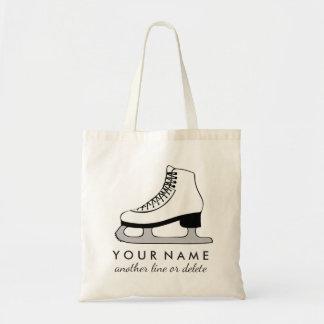 Personalized Figure Skating Custom Name & Text Tote Bag