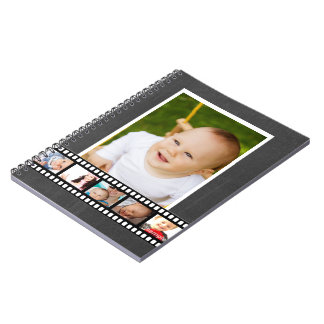 Personalized Film Tape Make Your Own Customizable Spiral Notebook