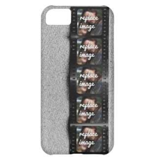 Personalized Filmstrip Photos Cover For iPhone 5C