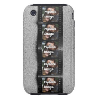Personalized Filmstrip Photos iPhone 3 Tough Case