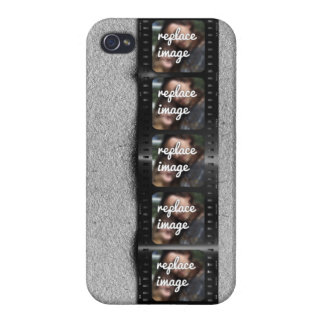 Personalized Filmstrip Photos iPhone 4/4S Covers