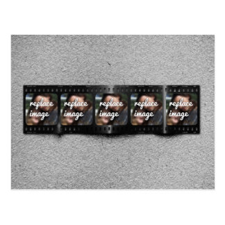 Personalized Filmstrip Photos Postcard