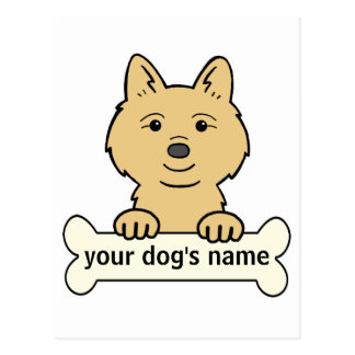 Personalized Finnish Spitz Post Cards