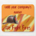 Personalized Fire Fighter's Mousepad
