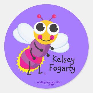 Personalized Firefly Sticker