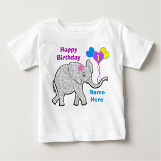 Personalized First Birthday shirts for Girls