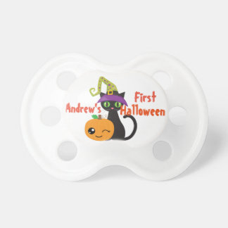 Personalized First Halloween Pacifier