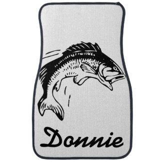 Personalized Fish Graphic Floor Mats Car Mat