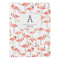 Personalized | Flamingo Party Extra Large Moleskine Notebook