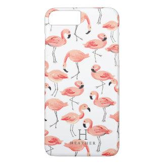 Personalized | Flamingo Party iPhone 7 Plus Case