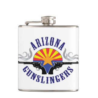 Personalized flask with club logo