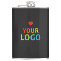 Personalized  Flasks with your Business Logo