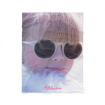 Personalized Fleece Blankets Add Photo And Name
