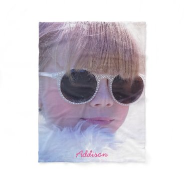 online_store Personalized Fleece Blankets Add Photo And Name
