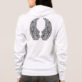 Personalized Fleece Zip Hoodie/Angel Wings Hoodie