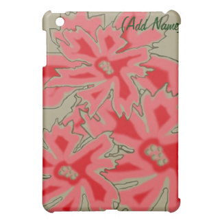 Personalized Floral iPad Case