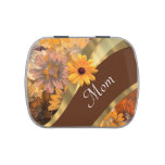 Personalized floral mom candy tins