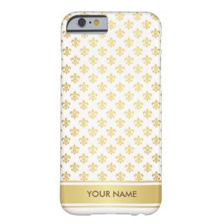 Personalized Florence Royal Glam White Gold Case