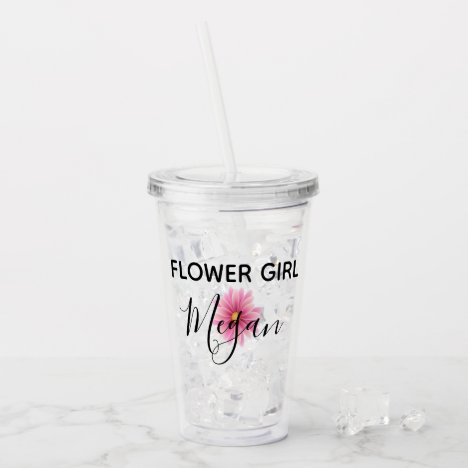 Personalized Flower Girl Cup
