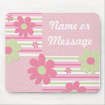 Personalized Flower Girl Mouse Pad