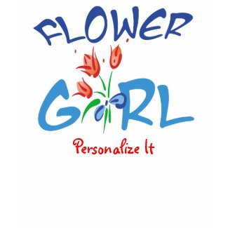 Personalized Flower Girl t shirt