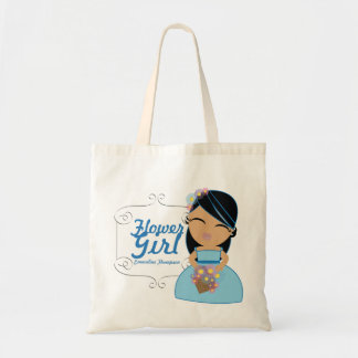personalized FLOWER GIRL wedding keepsake gift 7 Tote Bag