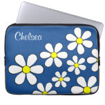 Personalized Flower Power Laptop Sleeve