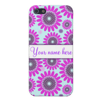Personalized Flower Power Phone Case