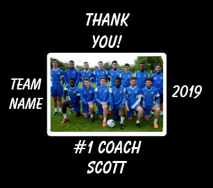 68df6d3cc Personalized Football Coach Team Photo Thank You Soccer Ball