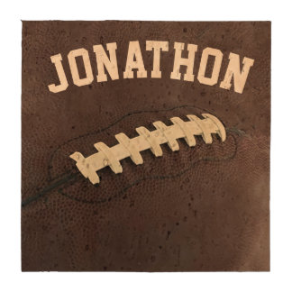 Personalized Football Coasters