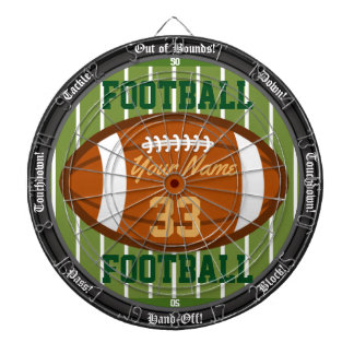 Personalized Football Dartboard