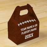 Personalized Football Favor Boxes in Bulk