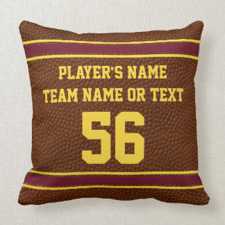 Personalized Football Gift Ideas, Football Pillows