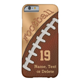 Personalized Football iPhone 6 Cases