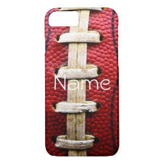 personalized football iPhone case