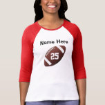Personalized Football Jersey Shirts for Women