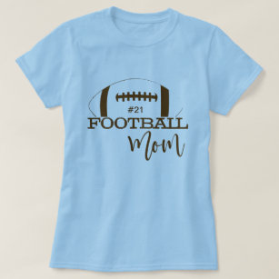Personalized Football Mom T Shirt For Game Day