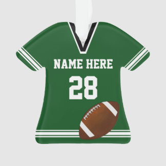 Personalized Football Ornaments Your NAME, NUMBER