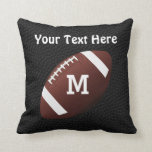Personalized Football Pillows with NAME and NUMBER