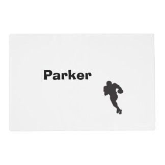 Personalized Football Placemat