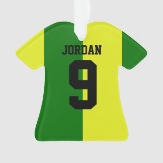 Personalized Football soccer shirt Halves