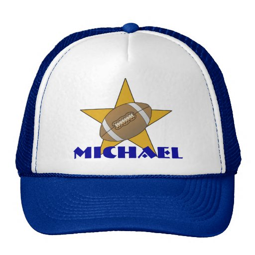 Personalized Football Star Hat