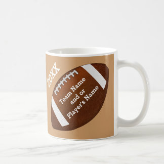 PERSONALIZED Football Team Gifts Football Mugs