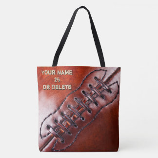 Personalized Football Tote Bags