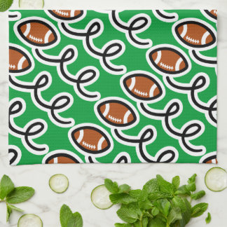 Personalized football towel   Sport theme